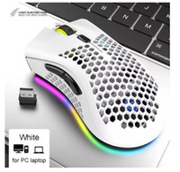 Willent Gaming Mouse Mouse 2.4G Беспроводной 3 уровня DPI RGB Light USB Game Optical Sensor PC Gamer Компьютерная мышь для ноутбуков Игры Mice 26PCS DHL