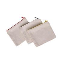التسامي أكياس مستحضرات التجميلية فارغة قماش سستة الحالات مخصصة المرأة حقيبة ماكياج الأزياء حقيبة يد الحقائب