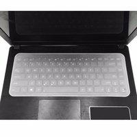 غطاء لوحة المفاتيح الجلد ماء الغبار سيليكون فيلم العالمي اللوحي حامي لوحة المفاتيح الحارس لمدة 13-17 بوصة دفتر 1