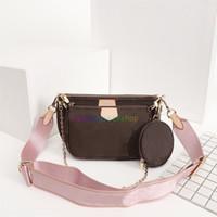 accessoires multi-pochette préférés sac à main sac à main véritable cuir de fleur de fleur mini sac à bandoulière dames sacs à bourse 3 pcs sacs à main