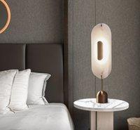 포스트 모데른 크리 에이 티브 하드웨어 LED 테이블 램프 거실 장식 조명 침대 옆 여사 독서 책상 조명