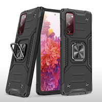 Armor case 360 Degree Rotating Metal Ring Holder Kickstand Shockproof Cover for Samsung Galaxy S20 FE 5G A51 5G A71 A31 A21S A50 A70 A81 A91