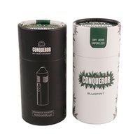Conqueror TC Dry Herb Vaporizer VAPorizer Sigaretta Ceramica Ceramica Camera di riscaldamento 2200mAh Batteria OLED Battery a base di erbe Penna Pathfinder