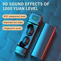 Новые наушники Bluetooth 5.1 Беспроводная гарнитура Mini Earbuds Stereo Dual Wireless наушники с зарядной коробкой игровых наушников 28
