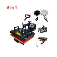 DHL 29 * 38 سنتيمتر نقل الحرارة آلة طباعة الحرارة الصحافة القدح ماكينات المفاتيح 5 في 1 آلة التسامي حصيرة آلة التسامي