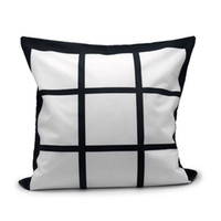 Sublimation Blanks Polyester Panel Pillow Cases Cushion Cove...