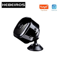 Hebeiros HD1080P Smart Life Mini Batterie Tuya Kamera Magnetische Basis Tragbare Auto Dash Kamera Audio TF Karten AP-Modus IP Wifi1