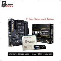 RAMS AMD Ryzen 7 2700X R7 CPU + ASUS TUF B450M PRO Gaming Motherboard + Puumeitou DDR4 2666 МГц Костюм сокет AM4 без Cooler1