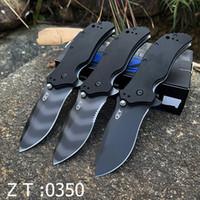 ZT 0350 Sıfır Tolerans Hızlı Açılış Rulman Sistemi Katlanır Bıçak Pocket Bıçak Taktik Avcılık Kamp Çoklu Bıçaklar