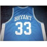 Özel 604 Gençlik Kadın Vintage Aşağı Merion # 33 K B kolej basketbol forması boyutu S-4XL veya özel herhangi bir isim veya numara forma