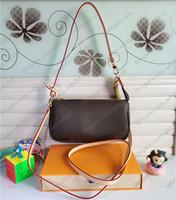 Handtaschen Frauen Taschen Mode Top Level Leder Schultertaschen Geldbörsen Gurt Mode Crossbody Bag Serielle Codes Messenger Bag Original Box LB116