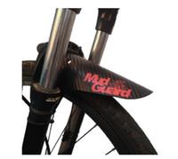 Ferendores de bicicleta Frente colorida / traseira Pneu Fenders Fibra Carbono Mudaguard MTB Bicicleta Mountain Bicicleta Road Ciclismo Fix Acessórios