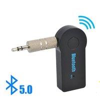 Горячая 2 в 1 Беспроводной Bluetooth 5.0 Приемник Адаптер передатчика 3.5 мм Джек для автомобильной музыки Audio Aux A2DP Наушники Recever Handsfree