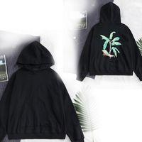 Ultimi Mens Designer Pullover Manica Lunga con cappuccio Coconut Trees Skull Bears Gufo Stampa Felpa High Street Felpa Abbigliamento Fashion Felpa con cappuccio