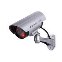 Cámara simulada del CCTV a prueba de agua e indicador LED para al aire libre o de interior, de mirada realista cámara falsa para la Seguridad