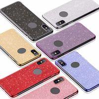 الفاخرة بلينغ جيلتر الحالات الهاتف لينة TPU لون ساطع حالة الغطاء ل فون apple 8 xs ماكس 11 12 برو