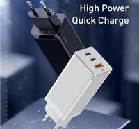 Для Baseus GAN 65W USB C Charger Charger Charst Charger Charger 4,0 3.0 QC4.0 QC PD3.0 PD USB-C Тип C Быстрое USB Зарядное устройство для MacBook Pro iPhone Samsung