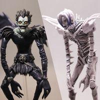 Japonais Toys Hot Toys Death Note Figure Figurines Rem Ryuuku Figurine Anime LJ200924