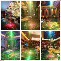 2021 60 Muster RGB LED Disco Light 5V USB Aufladung RGB Laser Projektor Lampe Bühnenbeleuchtung Show für Home Party KTV DJ Tanzfläche
