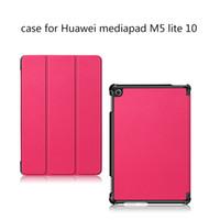 Tablette Étui pour Huawei MediaPad M5 Lite 10 Case en cuir approprié Huawei M5 Lite 10 Cas de protection