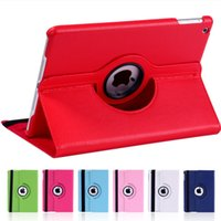 360 Degree Rotating Stand PU Leather Case for Ipad Air Mini 2 3 4 Pro 9.7 10.5 11