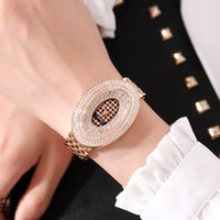 Cacaxi Luxury High Quality Watches Women Quartz Wristwatch Waterproof Ladies Watch Oval Rose gold Gift Relojes Mujers A183 201118