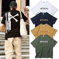Não Wtaps Camiseta Harajuku Oversized Camiseta Streetwear Mulheres Roupas Homens T Camisetas Estéticas Gráficas Punk Hip Hip Hop Verão Top Tee X1227