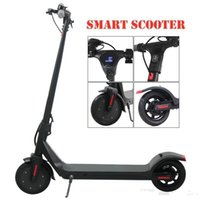 Roller-Reifen für Erwachsene 350W / 36V 10AH-Faltbare EU-Räder Roller Q6-Aktie Solid 8.5inch Elektrische 2 LED-Anzeige Power Long Endura Daec