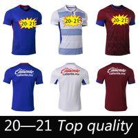Top Qualité Liga MX 2020 2021 Cruz Azul Soccer Jerseys Home Away 3ème 20 21 Football Hommes Femmes Chemise Taille: 16-2XL