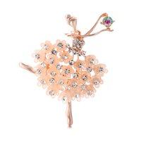 새로운 크리스탈 다이아몬드 브로치 핀 여성 디자이너 보석 브로치 의류 정장 상자와 함께 브로치