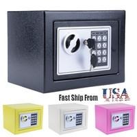 Dauerhafter digitaler elektronischer Safe-Tastatur-Schloss Home Office Hotel Jewlery Case Pistole Safe Box Schwarz