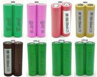 200PCS hohe Drain 18650 Batterien IMR 3500mAh HG2 30Q VTC6 3000mAh ATW 3400mAh 25R 2500mAh E Cig Mod VTC5 Lithium-Ionen-Zelle