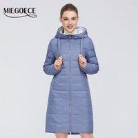 Feminino para baixo Parkas Miegofce 2021 Design Jaqueta de Primavera Casaco Mulheres à Prova de Windproof Parka Modelo Europeu e Americana Coat1