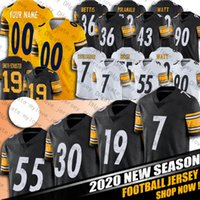 7 Ben Roethlisberger James Conner Juju Smith-Schuster Chase Claypool Minkah Fitzpatrick Jerseys Pittsburghs Devin Bush T.J. 와트