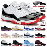Sapatos Basquetebol Homens Jumpman Basketball Sapatos Homens S Sapatos de Basquete Reflexivo 11 11s Low Concord 45 Treinadores Sneakers