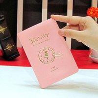 Capa de Passaporte Mulheres Homens PU Couro Capa no Passaporte ID de Crédito Holderbrand Unisex Travel Holder Holder H Jllozg