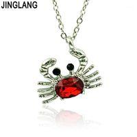Jinglang Yengeç Kolye Fit Snap Takı Kadın Bohemian Hayvan Kolye Kolye Best Friends Jewelry1