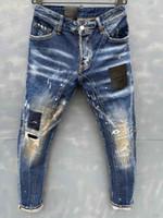 2020 hommes de concepteur motard jeans de couleur massif de mode maigre pantalon de jogging casual homme pantalon de marque Hip hop harph harem pantalon pour homme
