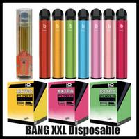 Dispositif à usage unique BANG XXL XXL XTRA POD POD pré-rempli de 2 ml de cartouche 450MAH Batterie 600 bouffées / 2000 bouffées