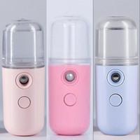 متعدد الألوان التجميل المرطب عطر سيدة جيب أدوات إمدادات المياه الصغيرة النساء الوجه تبخير الأجهزة usb موضة جديدة 5 5xy g2
