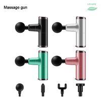 Mini USB-массажный оружием мышцы релаксация массажное оборудование ноги ягодицы шейки шерки шейки маленький портативный массаж пистолет