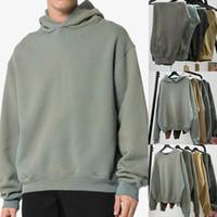 Saison 6 Classic Sweat à capuche Sweats à capuche Sweatshirts Sweaters Casual Vintage lavé surdimensionné Sweat à capuche Hommes Hip Hop Streetwear manteau