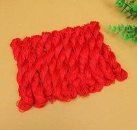 27 metros de 1 mm Cordón de algodón encerado rojo cable encerado cuerda de cuerda correa collar Cuerda de cuerda DIY joyería haciendo para sh jlutg mx_home