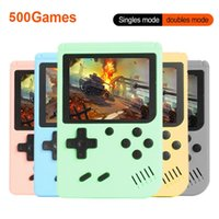 Controller di gioco Joysticks 2021 Retro portatile Mini console portatile a 8 bit a 8 bit a 8 pollici colore LCD per bambini giocatore per bambini incorporato 500 giochi bambini regalo