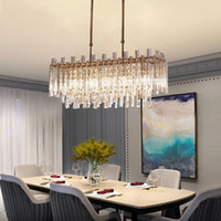 Nordic Led Chandelier Lighting Crystal Ceiling Chandeliers F...