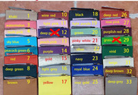 2020 Brand Designer Armbandlets Brieftaschen Kupplungsbeutel für Frauen PU 37 Farben Reißverschluss