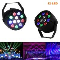 12 LEDs Par Light RGBW LED LIGHT LIGHTING PAR LUZ DMX512 SOUND ACTIVO DISCO DJ PROYECTOR Party Decoration Lámpara