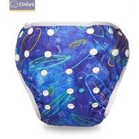 Elinfant 1pcs Baby Swimming Diaper Impermeabile Pannolino regolabile Pannolino Piscina Pantaloni Pantaloni Pantaloni Pantaloni Pantaloni Pantaloni Riutilizzabili Baby Baby Cappies1