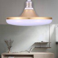 Super lumineux E27 LED Ampoule 220V Mettez en surbrillance 15W 20W 30W Lampada Ampoule Bombille Économie d'énergie Économie haute Alimentation Home Salon SALON UFO Lampe VTKY2051