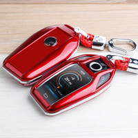 Комплект аксессуаров ключей ключа автомобиля прибор для bmw g30 g11 g12 x 3 x4 x5 x7 2019-2020 удаленный ключ FOB Bag Box крышка держатель оболочки